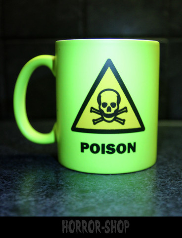 Poison (mug) neon yellow