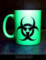 Biohazard (muki) neonvihreä
