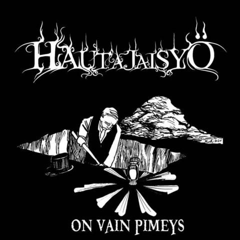 Hautajaisyö - On vain Pimeys (CD, uusi)