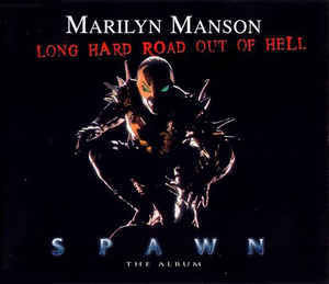 Marilyn Manson ‎– Long Hard Road Out Of Hell (CD, Maxi-single, used)