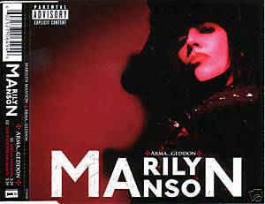 Marilyn Manson – Arma-goddamn-motherfuckin-geddon (CD, single, käytetty)