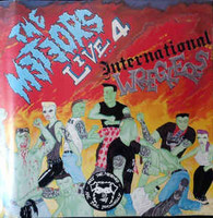 The Meteors  ‎– Live 4 ... International Wreckers (CD, käytetty)