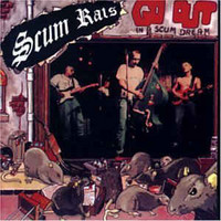Scum Rats ‎– Go Out In A Scum Dream (CD, käytetty)