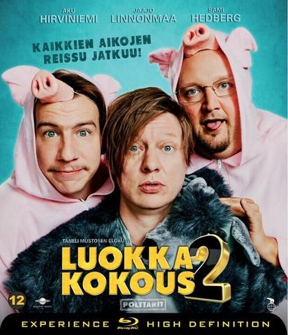 Luokkakokous 2 - Polttarit (Blu-ray) (used)
