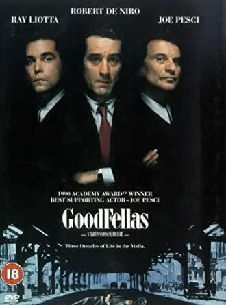 Goodfellas [DVD] [1990] (no fin sub, used)