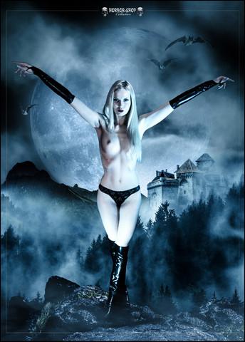 Horror-Shop Collection Poster - VAMPIRIA
