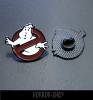 Metallinen Ghost busters pinssi