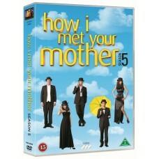 ENSISILMÄYKSELLÄ - HOW I MET YOUR MOTHER - KAUSI 5 (DVD, used)