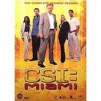 CSI: Miami kausi 2 levy 1 (DVD, used)