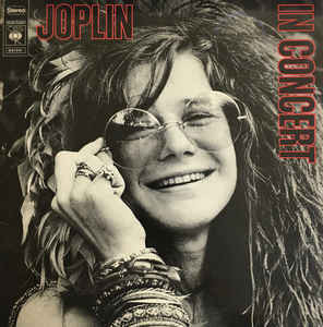 Janis Joplin – Joplin In Concert (CD, käytetty)