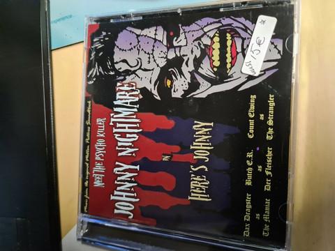 Johnny Nightmare - Here's Johnny (CD, uusi)