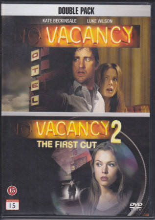 Vacancy & Vacancy 2 (DVD, used)