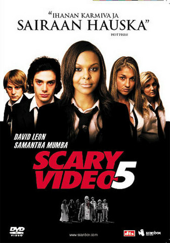 Scary Video 5 (DVD, used)