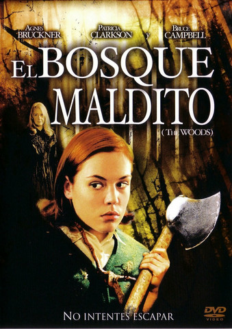 El bosque Maldito (DVD, used)
