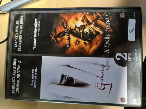The Gathering /  Jeepers Creepers (DVD, käytetty)