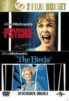 Psycho + The Birds - (2 DVD) (käytetty)