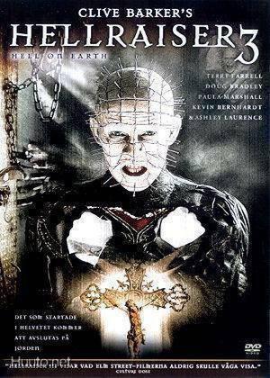 Hellraiser 3 - Hell On Earth (DVD, käytetty)