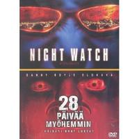 NIGHTWATCH & 28 PÄIVÄÄ MYÖHEMMIN (DVD, käytetty)