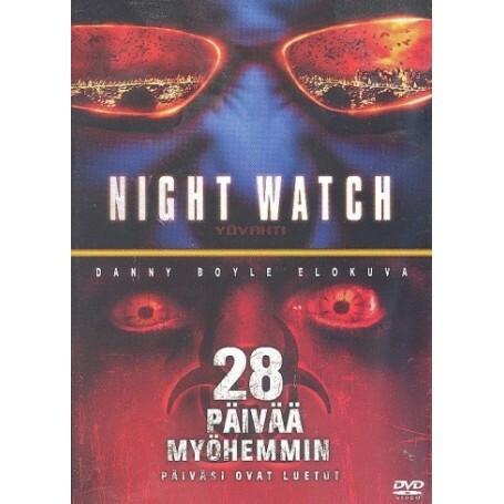 NIGHTWATCH & 28 PÄIVÄÄ MYÖHEMMIN (DVD, used)