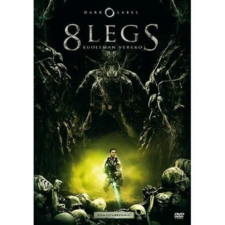 8 LEGS - KUOLEMAN VERKKO (DVD, used)