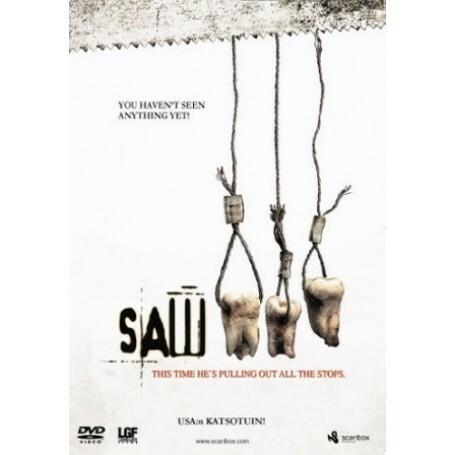 SAW 3 (DVD, used)