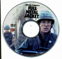 Full Metal Jacket (DVD, käytetty)