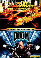 Fast and The Furious Tokyo Drift / Doom (dvd, used)