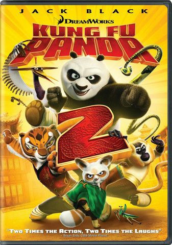 Kung Fu Panda 2 (DVD, käytetty)