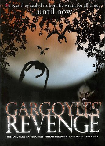 Gargoyles revenge - DVD -käytetty