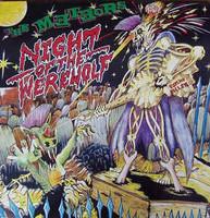 The Meteors – Night Of The Werewolf (LP, käytetty)