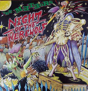 The Meteors  – Night Of The Werewolf (LP, used)