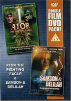 - Ator The Fighting Eagle / Samson & Delilah [DVD, käytetty, EI FIN SUB)
