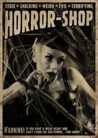 Horror-Shop old school horror postikortti