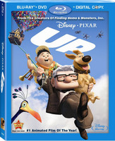 Disney Pixar Up (Blu-ray+DVD, käytetty, EI FIN SUB)