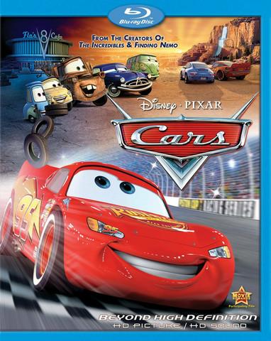 Disney Pixar Cars (Blu-ray, käytetty, EI FIN SUB)