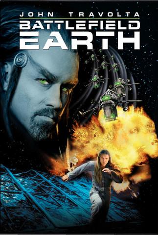 Battlefield Earth (DVD, käytetty, EI FIN SUB)