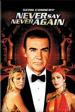 Never Say Never Again (DVD, no FIN sub, used)