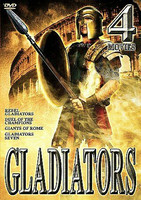 Gladiators - 4 Movie Set (DVD, 2002, 2-Disc Set) (Ei FIN sub, käytetty)