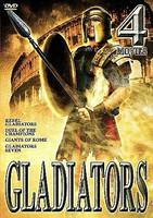 Gladiators - 4 Movie Set (DVD, 2002, 2-Disc Set) (No FIN sub, used)