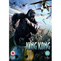 King Kong 2007 DVD (Ei FIN sub, käytetty)