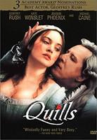 Quills (dvd) (Ei fin sub, käytetty)