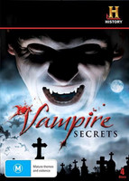 Vampire Secrets: Movie monsters, Vampires in America DVD (Ei fin sub, käytetty)