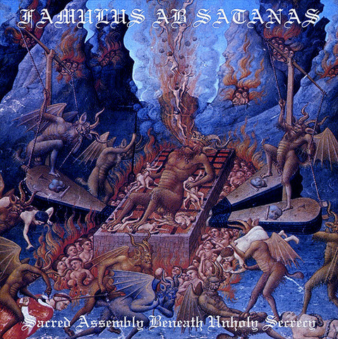 Famulus ab Satanas - Sacred Assembly Beneath Unholy Secrecy (Vinyl LP)