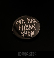 One man freakshow -button