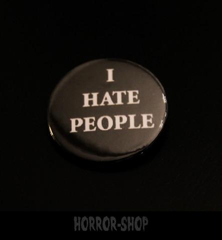 I hate people -pinssi