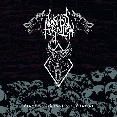 WOLVES OF PERDITION - Ferocious Blasphemic Warfare (CD, New)