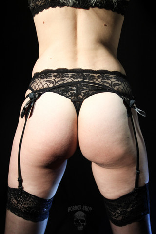 Garter belt with bow (no2)