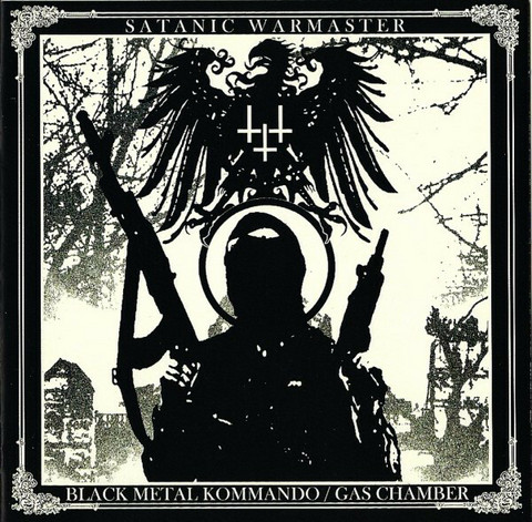 Satanic Warmaster – Black Metal Kommando / Gas Chamber CD (new)