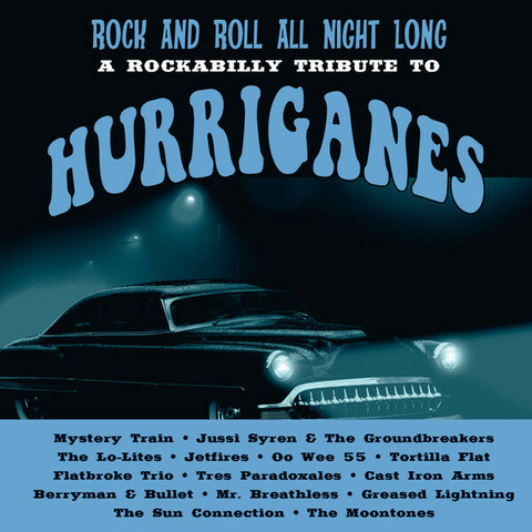 Various – Rock And Roll All Night Long - A Rockabilly Tribute To Hurriganes CD (uusi)