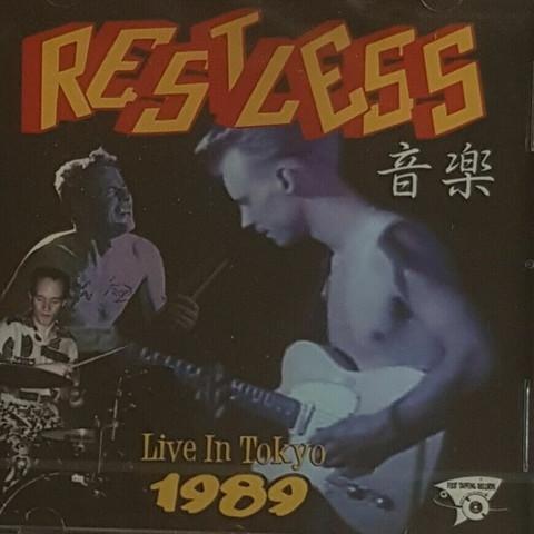 RESTLESS - Live In Tokyo 1989 CD  (uusi)